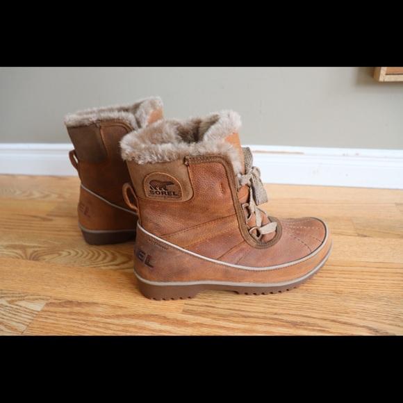 Sorel Tivoli Leather Waterproof Boots